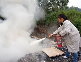天添公司组织员工开展消防演练活动