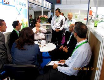四川省长征制药股份有限公司参加2014年度法国巴黎世界原料制药展会