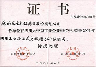 长药公司——省工业500强